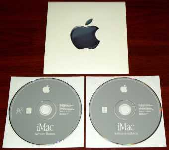 Apple iMac G3 - Mac OS 9.04 Deutsch Software Installation & Restore 2 CDs