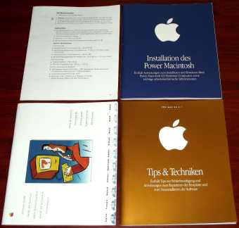 Apple Handbücher - Installation des Power Macintosh, Tips & Techniken, Service-Guide 1998