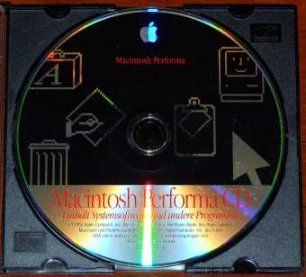 Apple Macintosh Performa CD Systemsoftware und andere Programme D691-0896-A 1995