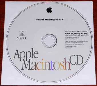 Apple Power Macintosh G3 Mac OS 8.0 Install CD D691-1826-A 1997