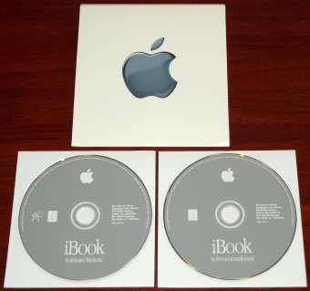 Apple iBook G3 Softwareinstallation und Restore CD D691-2677-A 2000
