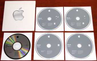 Apple iBook G4 Mac OS X Install Disc Version 10.2.4 (22691-4306-A) & Software Restore Disc Mac OS X und Mac OS 9 Programme Version 9.2.2 (D691-4305-A) inkl. Hardware-Test CD iBook SW Version 1.2.4 (D691-4020-A) Deutsch D603-2871-A 2003