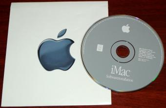 Apple iMac G3 Mac OS 9.0.4 Softwareinstallations CD & Coupon 2000