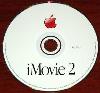 Apple iMovie 2 CD 2000