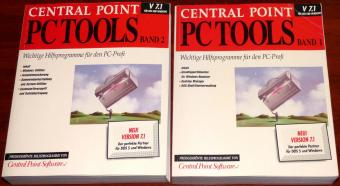 Central Point PC Tools V 7.1 Handbücher Band 1 und 2