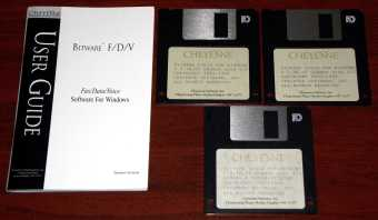 Cheyenne Communications Bitware Fax/Data/Voice Software V/F/D for Windows V 3.30.07 German Version 1996