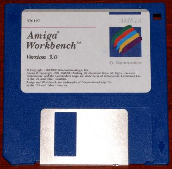 Commodore Amiga Inc. Workbench Version 3.0 auf 5 Disketten 3.5