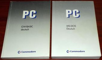 Commodore PC - Microsoft MS-DOS 3.3 Betriebsanleitung Betriebssystem Fassung 3.3, 1988