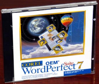 Corel WordPerfect 7 Suite 1996