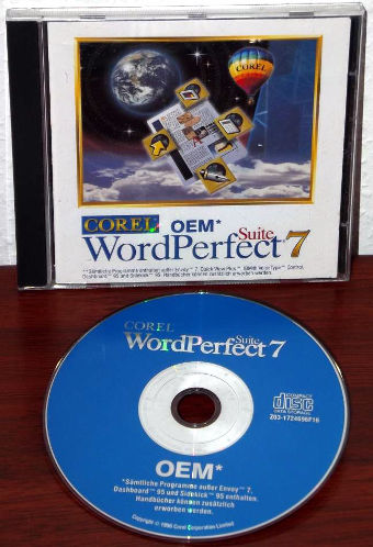 Corel WordPerfect 7 Suite