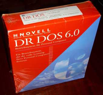 DR DOS 6.0 in OVP