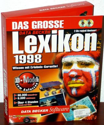 Das grosse Lexikon 1998 - Data Becker 2CDs