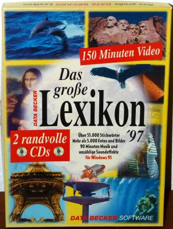 Das grosse Lexikon 97 - Data Becker