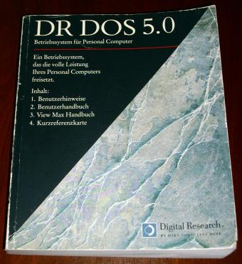Digital Research - DR DOS 5.0 - Vobis Highscreen Buch 1990