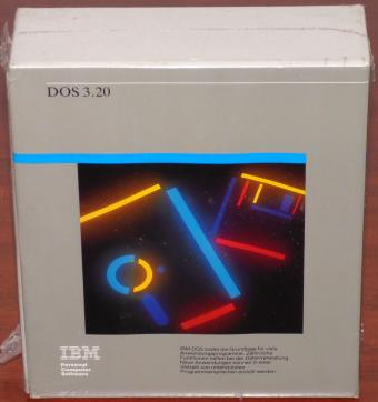 IBM DOS 3.20 PC Software 5,25
