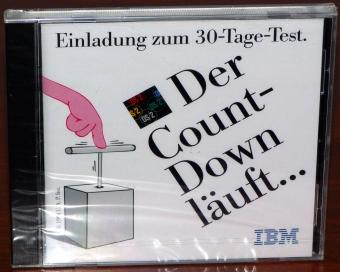 IBM OS/2 2.1 Works, Fax, DB2, Lotus SmartSuite, Word Perfect, CorelDraw 2.5 - Der Count-Down läuft... Einladung zum 30-Tage-Test 1994