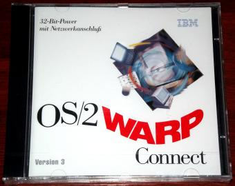 IBM OS/2 Warp Connect mit BonusPak CD-Roms & Disketten 1995