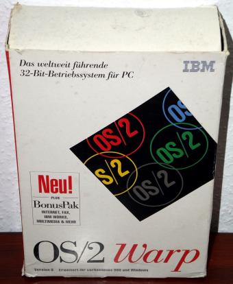 IBM OS/2 Warp 3 & Bonus in OVP