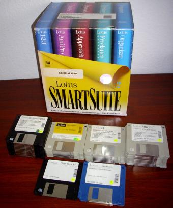 Lotus SmartSuite 2.1 EDU Windows Disketten Version 1994
