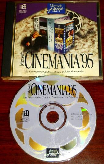 MIcrosoft Cinemania 1995