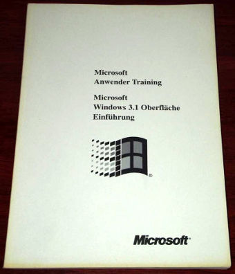 MS Anwender Training Windows 3.1 Redmond Verlag