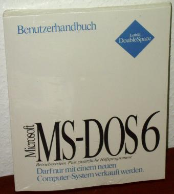 MS-DOS 6 Disketten OVP inklusive COA & Microsoft Hologram