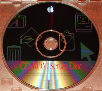 Apple Macintosh CD-ROM Setup Disc 1995 CD-Version 5.0.4