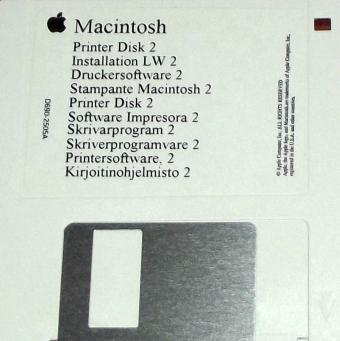 Apple Macintosh Druckersoftware 6 Printer Disk