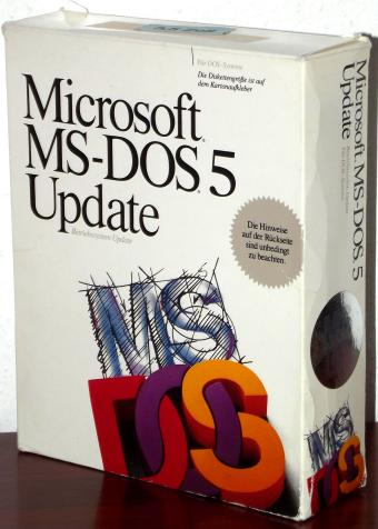 Microsoft MS DOS 5 Update 3.5