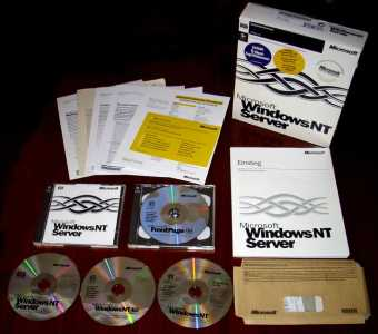 Microsoft Windows-NT4 Server 5-Clients