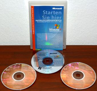 Microsoft Windows XP Media Center Editon (MCE) 2005 Hologramm & Update CD inkl. COA & Product-Key