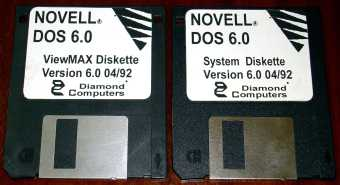 Novell DOS 6.0 (Diamond Computers) 1992