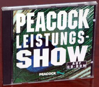 Peacock Leistungs-Show auf CD-ROM - HP 3Com Panasonic Spea Conner Novell Samsung & Intel
