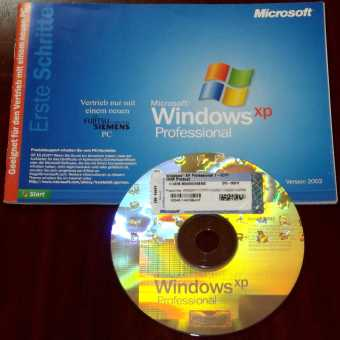 Microsoft Windows XP Professional Hologram CD