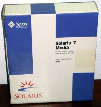 Sun Solaris 7 Media Sparc Plattform 5/99