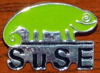 SuSE Linux Ansteck-Pin