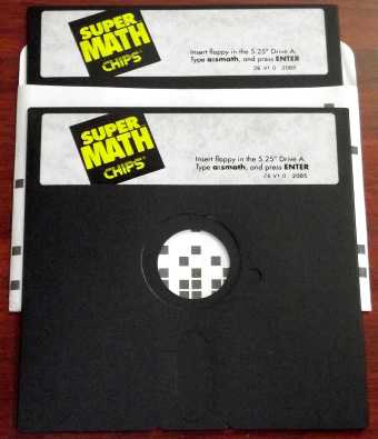 Super Math Chips & Technologies CoPro Diskette
