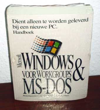 Windows 31 MS-DOS NL