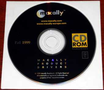 macally Mac Product Drivers CD-ROM Fall 1999