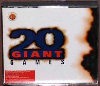 20 Giant Games - 4 CDs, Civilization, F15 III, Grand Prix, B-17 Flying Fortress, Master of Orion, Dogfight, Starlord, Subwar 2050, Machiavelli - the Prince, F-117 A, Lure of the Temptress, Goal, Conspiracy, Hokum KA 50, Sensible Golf, Archer Macleans Pool, Iron Assault, Zone Raiders, Maniac Karts, Beau Jolly Ltd. P 1997