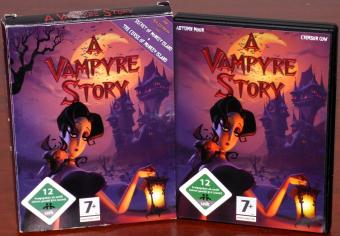 A Vampyre Story - Alle Wege führen nach Paris PC DVD Paperbox OVP Autumn Moon Entertainment/Crimson Cow GmbH 2008