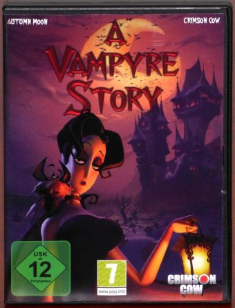 A Vampyre Story - Bis der Pflock uns scheidet PC DVD Autumn Moon Entertainment/Crimson Cow GmbH 2008