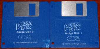 AMIGA Bubba 'n' Stix Disketten Core Design Limited 1993