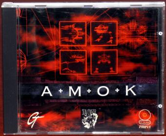 A-M-O-K Scavenger Inc./GT Interactive Win95/DOS 6.0 Amok Game CD-ROM 1996