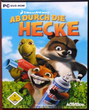 Ab durch die Hecke PC DVD-ROM DreamWorks Animation/ActiVision Publishing Inc. 2006