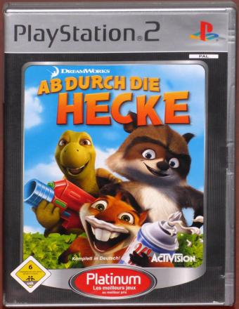 Ab durch die Hecke PlayStation 2 (PS2) DreamWorks Animation/ActiVision Publishing Inc. 2006