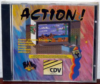 Action! Cosmos, ElectroBody, Monster Bash, Apogee Greens, Pool Shark, Hurrican, Duke Nukem, Shareware Volume 1 CDV CDR1000