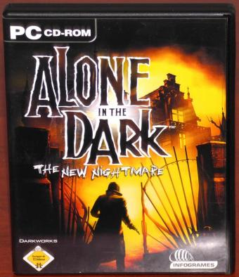 Alone in the Dark - The new Nightmare auf 3 PC CD-ROMs Infogrames/Darkworks 2001