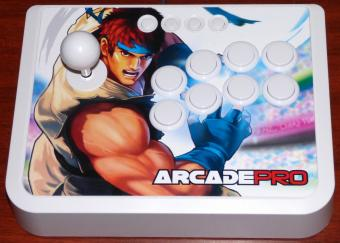 Arcade Pro USB Gamepad/Joystick (für PS3/Xbox360/PC) Spiele FightStick 3m USB-Kabel & Programmable Turbo Rapid Fire
