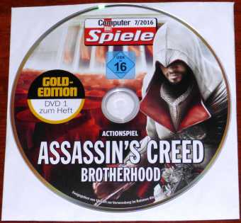 Assassin's Creed Brotherhood CD CBS 07/2016